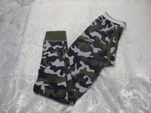 Kids Camouflage Long John Bottoms L 10-12 Years Old