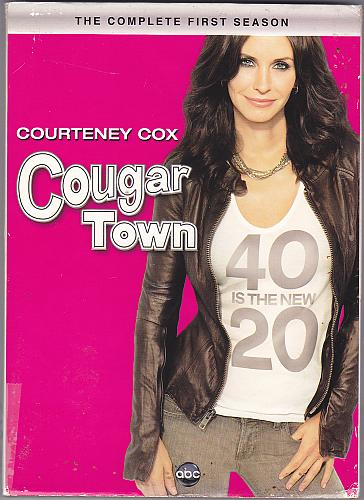 Cougar Town - Complete 1st Season 2010 DVD 3-Disc Set - Very Good
