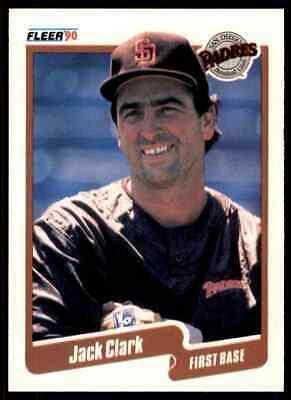 1990 Fleer #152 Jack Clark Padres NM-MT