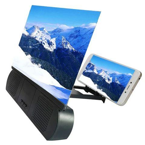 12 Portable Screen Magnifier with Bluetooth Speaker
