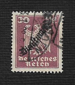German Used #O57 Catalog Value $.75