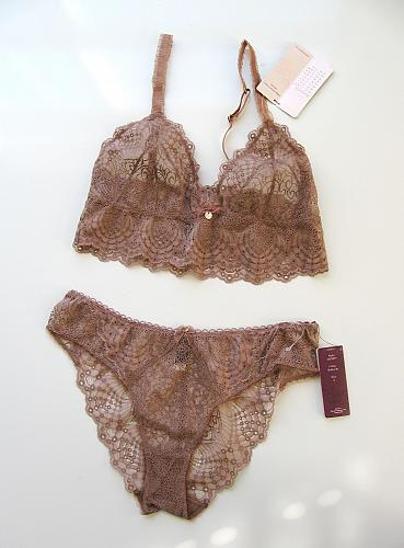 A0200B Pfiff NEW Bridal Jour De Ma Vie Moments of Seduction Sheer Embroidered Bikini