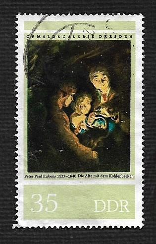 Germany DDR Used Scott #1826 Catalog Value $.25