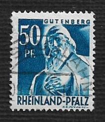 German Used Scott #6N26 Catalog Value $.35