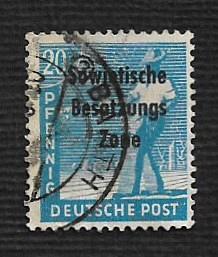 Germany Used Scott #10N8 Catalog Value $.30