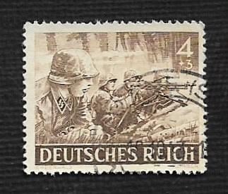 German Used Scott #B219 Catalog Value $1.20