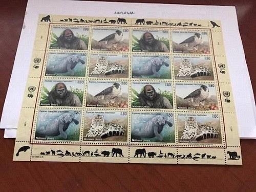 United Nations Geneve Nature protection s/s 1993 mnh stamps