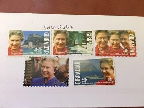 Gibraltar Queen Elizabeth mnh 1992 stamps
