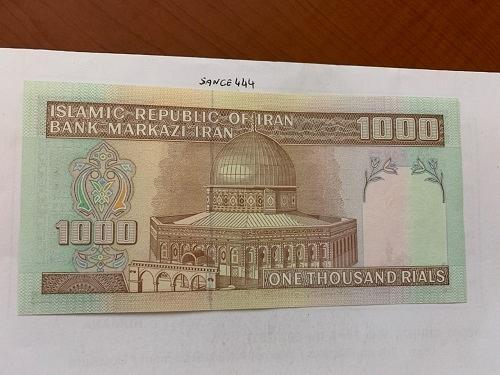 Middle East 1000 rials uncirc. banknote 2013