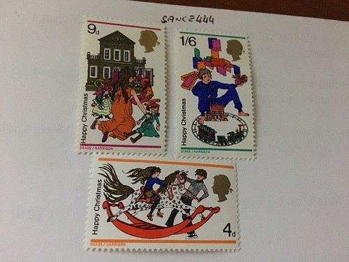 United Kingdom Great Britain Christmas mnh 1968 stamps