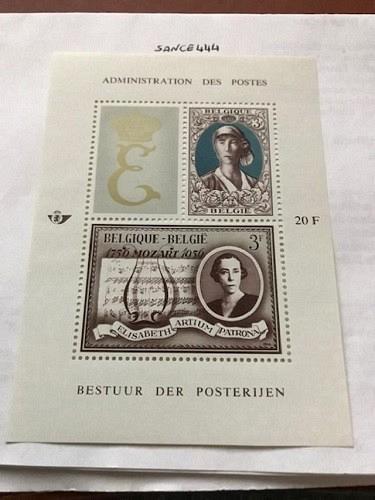 Belgium Queen Elisabeth s/s mnh 1966 stamps