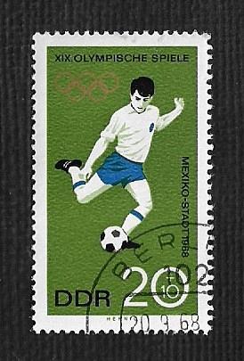 German DDR Used Scott #B150 Catalog Value $.25