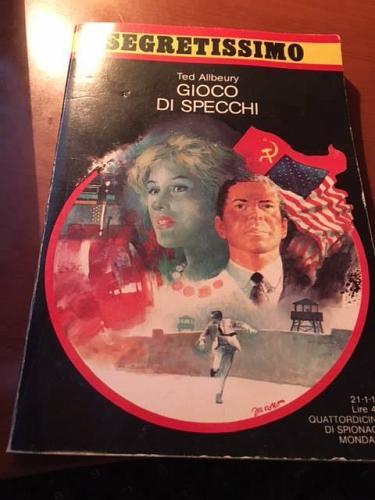 Italian book Segretissimo Gioco di specchi n.1141 libro