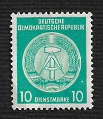 German DDR MNH Scott #O19 Catalog Value $2.50