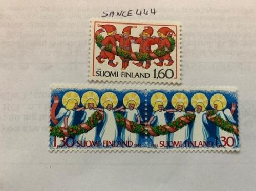 Finland Christmas 1986 mnh stamps