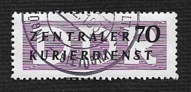 German DDR Used Scott #O36 Catalog Value $2.25