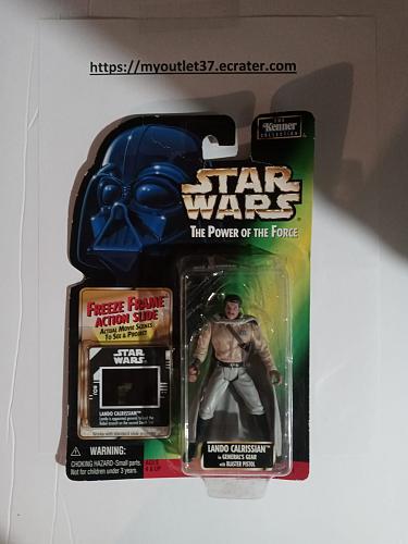 "Star Wars - Lando Calrissian - Action Figure 3.75"" - Brand New"