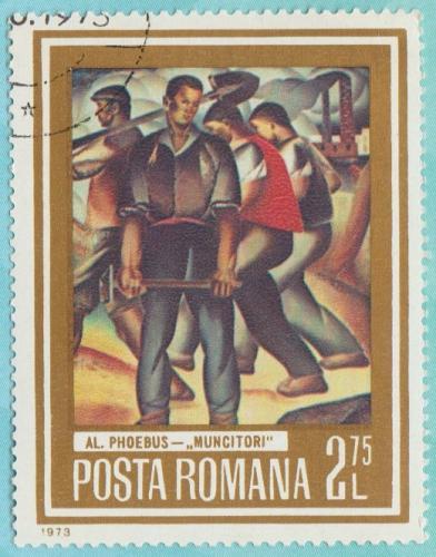 [RO2447 Romania: Sc. no. 2447 (1973) Used