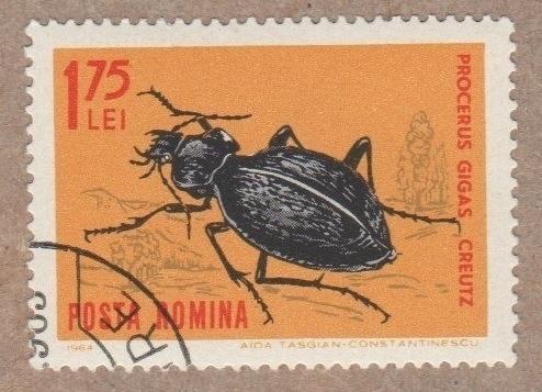 [RO1622] Romania Sc. no. 1622 (1964) Used