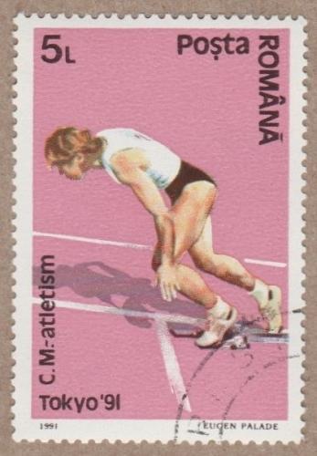 [RO3701] Romania: Sc. no. 3701 (1991) CTO