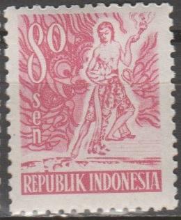 [ID0385] Indonesia: Sc. no. 385 (1951) MNH