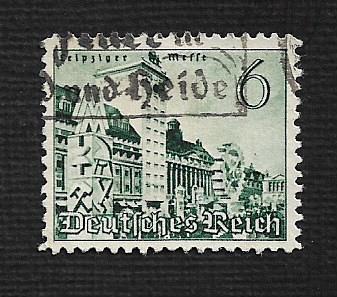 German Used Scott #495 Catalog Value $.45