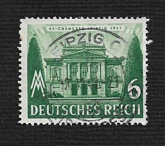 German Used Scott #499 Catalog Value $1.00