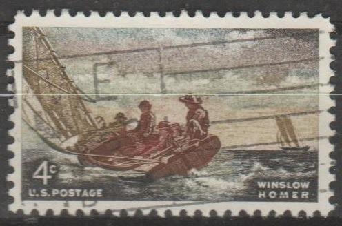 [US1207] United States: Sc. no. 1207 (1962) Used Single