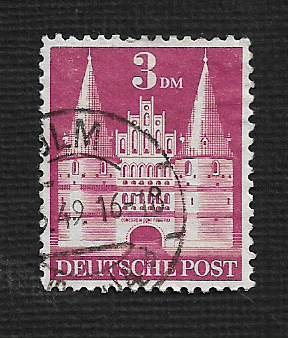 German Used Scott #660 Catalog Value $2.25