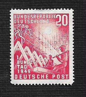 German MNH Scott #666 Catalog Value $39.34