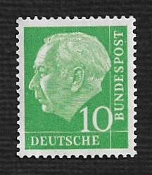 German MNH Scott #708 Catalog Value $.64