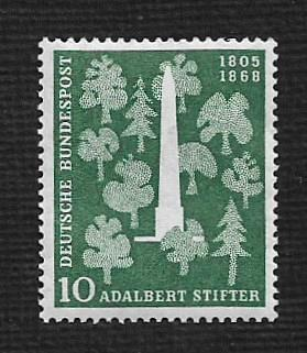 German MNH Scott #735 Catalog Value $3.00
