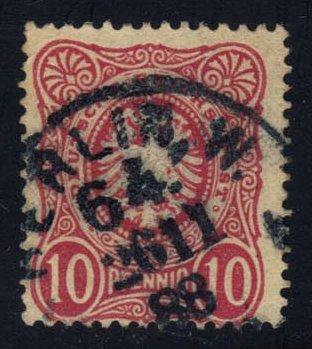 Germany #39 Imperial Eagle; Used (2Stars) |DEU0039-09