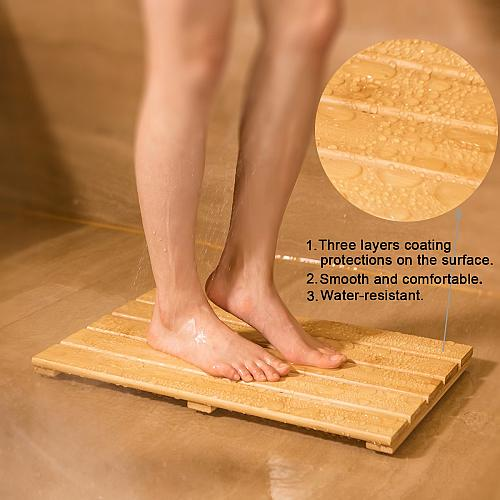 GOBAM Shower Mat Bath Mat for Spa Relaxation,Bathroom Rugs,Non-Slip for Indoor x