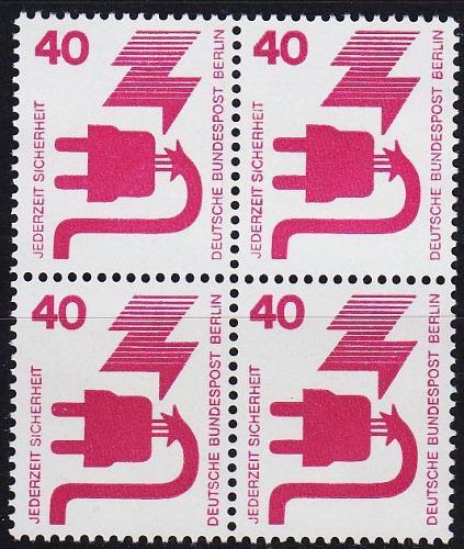 GERMANY BERLIN [1971] MiNr 0407 ( **/mnh ) [01]