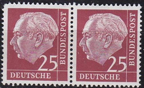 GERMANY BUND [1954] MiNr 0186 2er ( **/mnh ) [01]