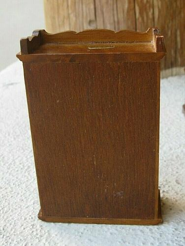 """Town Square Miniatures Tall Dresser Night stand & 4 """"books"""" 1:12 scale"""