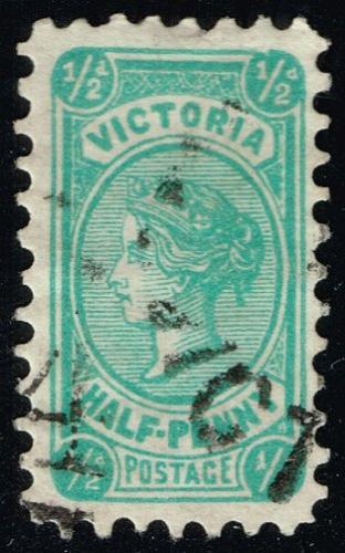 Australia-Victoria #193 Queen Victoria; Used (3Stars) |VIC193-05XRS