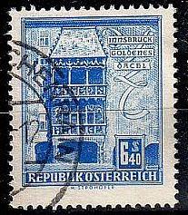 ÖSTERREICH AUSTRIA [1958] MiNr 1055 x ( O/used ) Architektur