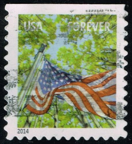 US #4782b Flag in Spring; Used (3Stars) |USA4782b-05