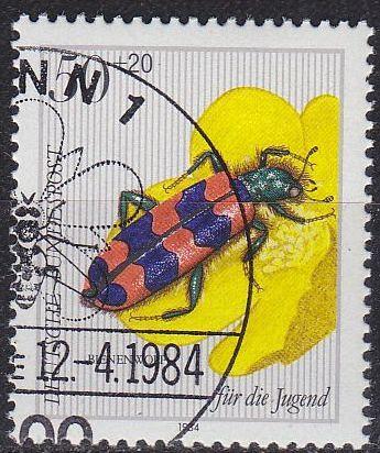 GERMANY BUND [1984] MiNr 1202 ( O/used ) Tiere