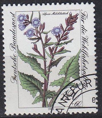 GERMANY BUND [1983] MiNr 1191 ( O/used ) Pflanzen