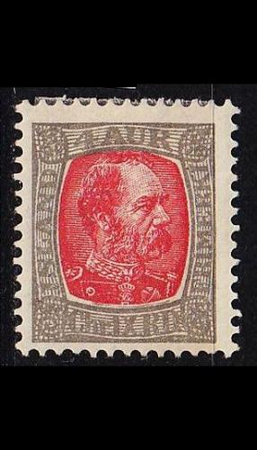 ISLAND ICELAND [1902] MiNr 0036 ( */mh )