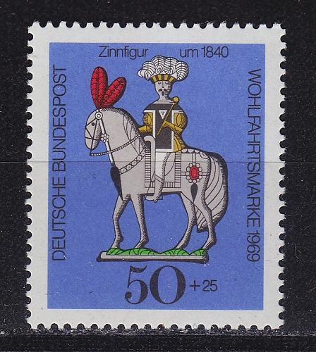 GERMANY BUND [1969] MiNr 0607 ( **/mnh )
