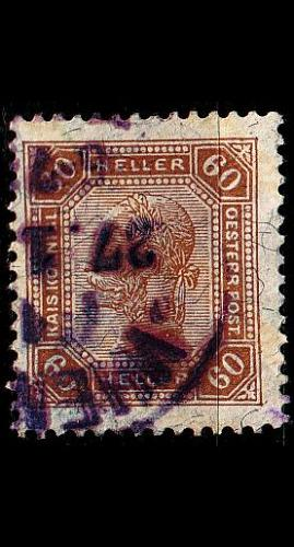 ÖSTERREICH AUSTRIA [1904] MiNr 0117 A ( O/used )