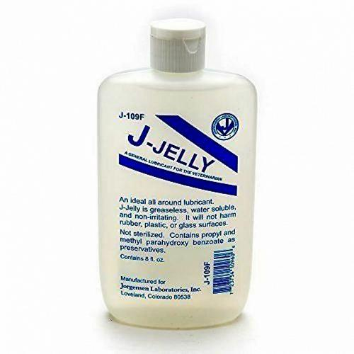 J-Jelly Lubricant - Water Based/Water Soluble - 8 fl oz
