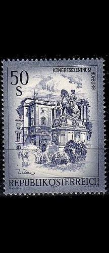 ÖSTERREICH AUSTRIA [1975] MiNr 1478 ( **/mnh ) Architektur