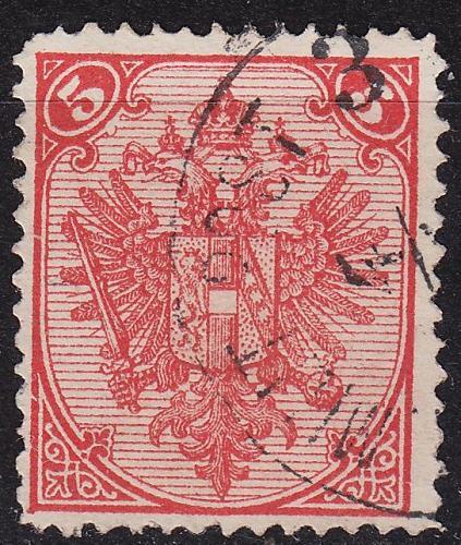 ÖSTERREICH AUSTRIA [BosHerz] MiNr 0004 I c C ( O/used )