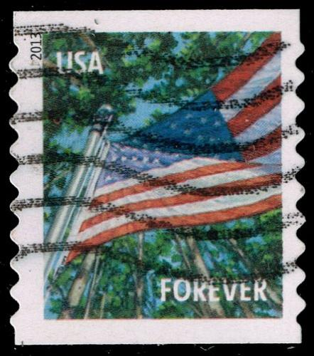 US #4773 Flag in Summer; Used (3Stars)  USA4773-01