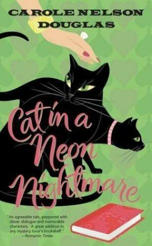 Cat In A Neon Nightmare Book By Carole Nelson Douglas For Dog Rescue Charity